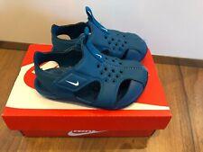 Nike Sunray Protect Wasserschuhe Badeschuhe Sandalen Schuhe Gr 22 Blau