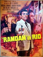 Plakat Kino Original Ramdam A Rio - 120 X 160 CM