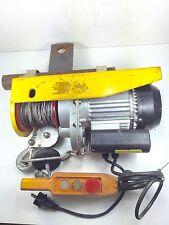HGS-B400-12 MINISIZE   ELECTRIC ROPE HOIST 230V50HZ------255