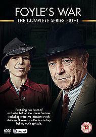 Foyle's War - Complete Series 8 3 x DVD Box Set - CONDITION VG EB11