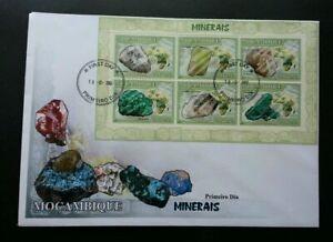 [SJ] Mozambique Minerals 2002 Stone (miniature FDC)