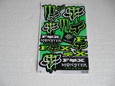 Sticker Adhesivo monstruo moto sport Motorsport motorradcross racing Race