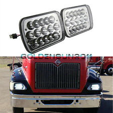 2x LED Headlights For International IHC Headlight Assembly 9200 9900 9400i Pair