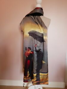 Vettriano Pashmina Wrap - The Singing Butler