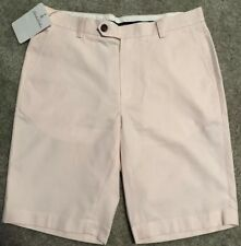 Brooks Brothers Chino Shorts Peach/Light Pink Waist 33 New With Tags