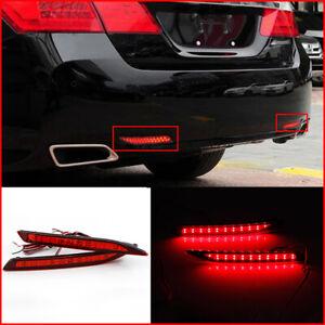 For 2014-2015 Honda Accord Nine Generation LED Rear Bumper fog Lights Assembly