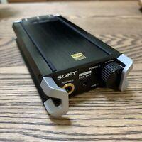 Sony PHA-2 Portable Audio Headphones Amplifier Black Japan F/S Tracking  used