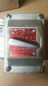 """NEW Eaton Crouse Hinds EDS2129 Explosion Proof Factory Sealed SNAP SWITCH 3/4"""""""