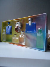 BVLGARI THE CONTEMPORARY COLLECTION Vintage 2003 7x Miniature Gift Set Near Mint