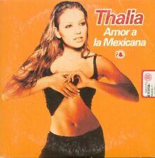 Thalia - Amor A La Mexicana 2 Tracks Cardsleeve Cd Ottimo