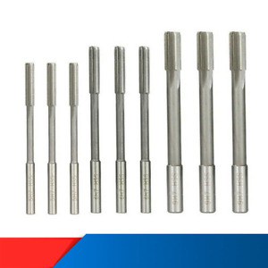 HSS H7 Machine Reamer Set 2.0-10mm Straight Shank Milling Chucking Cutter Tools