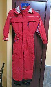 Obermeyer Red ski suit snowsuit  Kids Junior size 8