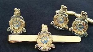 Royal Marines Lapel Pin Badge, Tie Clip, Cufflinks or Gift Set