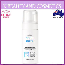 [Etude House] Soon Jung pH 6.5 Whip Cleanser 150ml Full Size Soonjung Sensitive