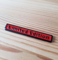 Black & Red 3D Metal Limited Edition Badge for Ford Fiesta Focus Mondeo KA Kuga