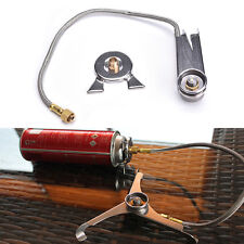 Outdoor Camping Stainless steel Stove Adapter Link Adaptor Nozzle Gas Bottle EEj