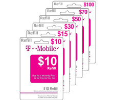 $45 T-Mobile Prepaid Card | No Shipping | Instant Refill | (See Description*)