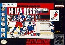 NHLPA Hockey 93 (Super Nintendo Entertainment System, 1992) Game Only