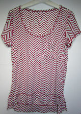 NWOT Lululemon Perfect Layer Tee Shirt Yoga Dance Size 4 Cranberry