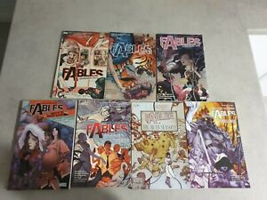 Fables Comics Trade Paperback Bundle (Volumes 1 to 7)