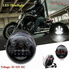 Black Dot LED Headlight Projection for Harley V Road VROD VRSCR VRSCX VRSCE VRSC