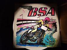 vintage BSA Iron On Transfer Breezin Beezer