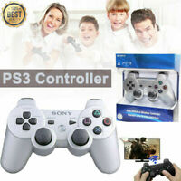 PS3 PlayStation 3 DualShock 3 Wireless SixAxis Controller GamePad SILVER
