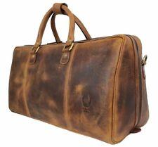 Echt Leder Reisetasche Vintage Weekender Groß Herren Handgepäck Tasche Sport