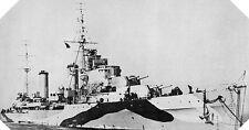 6x4 Gloss Photo wwA87 Normandy Naval Photo HMS Arethusa