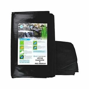 Swell UK Fish Pond Liners with Free Underlay Garden Pool Landscaping Reinforced