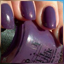 OPI nail polish DUTCH 'YA JUST LOVE OPI? Discd + GIFT shimmer purple grape lacqr