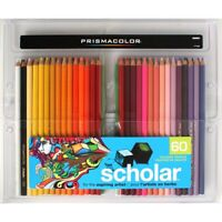 Prismacolor Scholar Colored Pencils 60-Color Set  - 60-Color Set