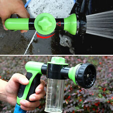 US Home Car Washing Foam Water Gun Wash Clean Pipe Spray Cleaning Tool Green 1pc