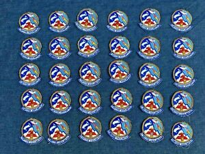 30 Pc LOT VTG USAF Air Police Squadron Patches Elmendorf AFB FORTITER VIGILANTES