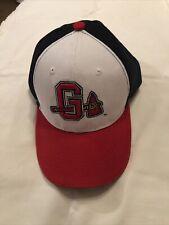 Gwinnett Braves Minor League For Atlanta Baseball Cap Size 7 1/4 Melon Wear