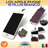 LCD DISPLAY TOUCH SCREEN VETRO + FRAME X APPLE IPHONE 6 PLUS BIANCO RETINA 5,5''