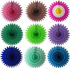 """18"""" Tissue Paper Party Fan (6-pack)"""
