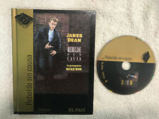 REBELDE SIN CAUSA PELICULA EN DVD + LIBRO CON JAMES DEAN NATALIA WOOD EEUU