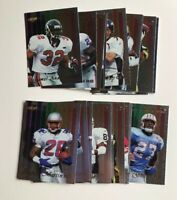 1998 Collectors Edge Spectrum NFL FOOTBALL CARDS Complete set of 25 NM/M
