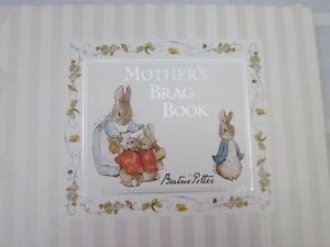F. Warne Beatrix Potter Mother's Brag Book Peter Rabbit Photo AlbumNew 2000