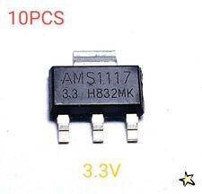 Ams1117 33 Lm1117 33 Ams1117 33v 1a Voltage Regulator Sot 223 M153 Lot Of 10