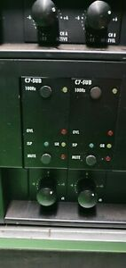d&b P1200A Power Amplifier with C7 Sub Module including Crossover for Subs