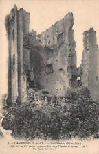 LAVARDIN - le Château - ancienne entrée par l'escalier d'honneur