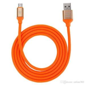Fast Charging and Sync Micro USB V8 Cable for Android 2.4A (4ft,1.3m) w Package