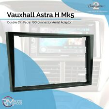 Connects2 CT24VX18 Double Din Radio Facia Vauxhall Astra H Mk5 Piano Black