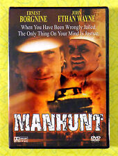Manhunt ~ New DVD Movie ~ Ernest Borgnine John Ethan Wayne 1986 Western