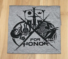 For Honor rare Promo T-Shirt Xbox One Playstation 4 PS4 Ubisoft Size: M