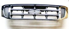 Ford Ranger Pickup 2.5TD Front Radiator Grille Chrome & Black (02-10/07) D.CAB