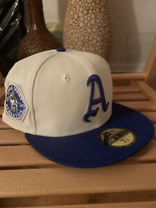 New Era 59Fifty Hat Club Philadelphia Athletics 7 1/4 White Royal Blue