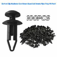 100PCS 6mm Scrivet Clip Retainer Cover Clip Repair For Ford Falcon Territory New